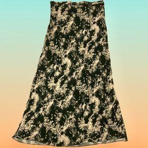 FREE PEOPLE Tropical Print Maxi Skirt
